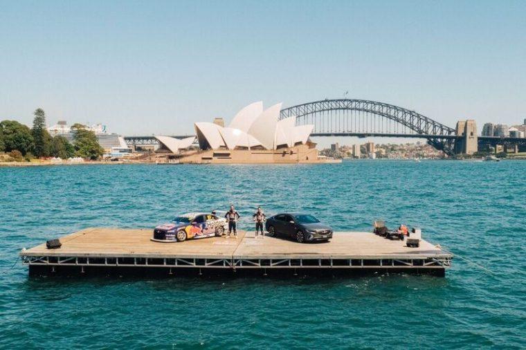 Holden Commodore Supercar Sydney Harbor Farm Cove