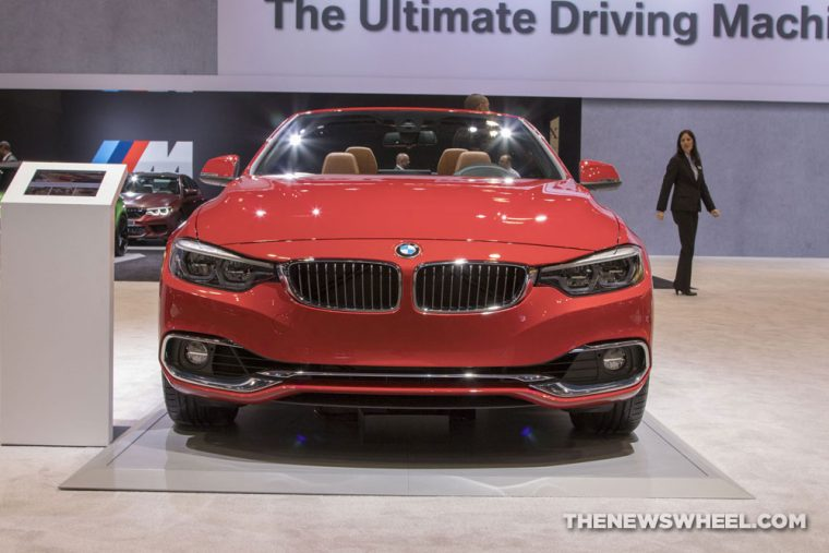 2018 BMW 440i Convertible 4 Series Chicago Auto Show CAS