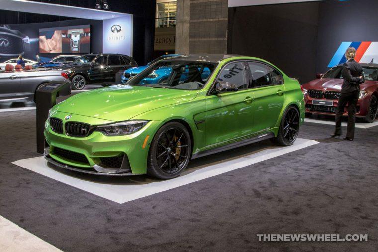 2018 BMW M3 Sedan Chicago Auto Show CAS