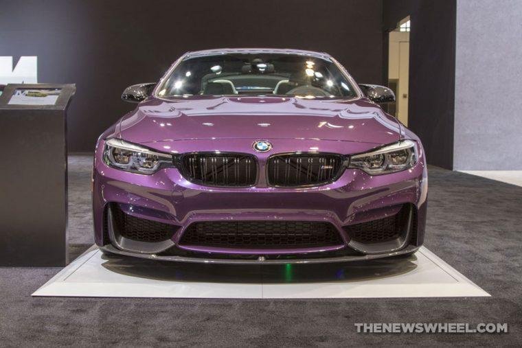 2018 BMW M4 Coupe Chicago Auto Show CAS
