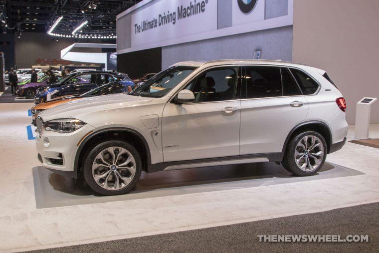 2018 BMW X5 40e iPerformance Chicago Auto Show CAS