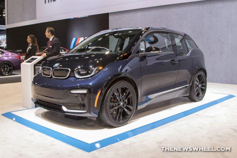 2018 BMW i3s Range Extender Chicago Auto Show CAS
