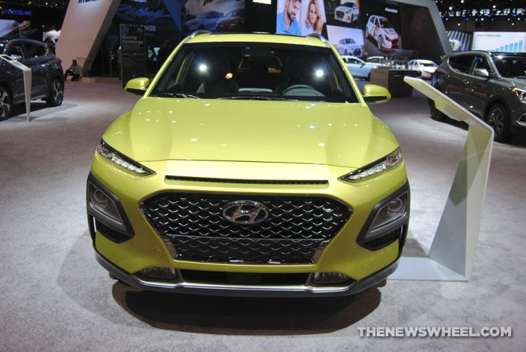 2018 Hyundai Kona urban crossover compact SUV new vehicle outdoor (1)