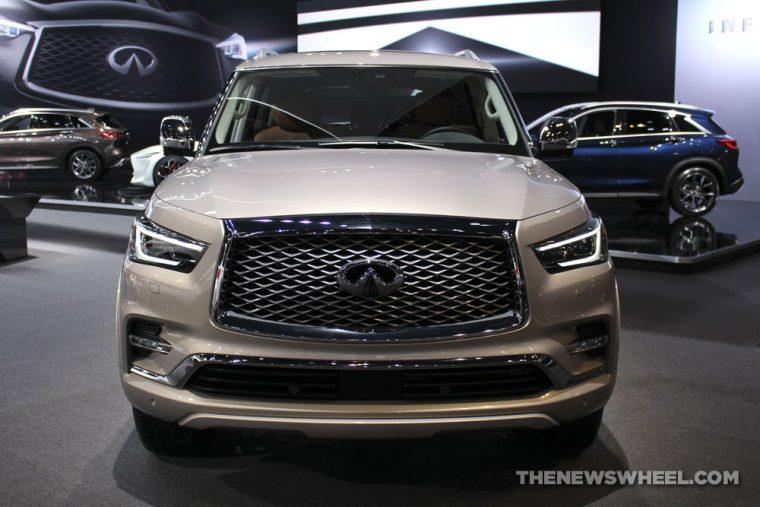 2018 INFINITI QX80 Chicago Auto Show CAS