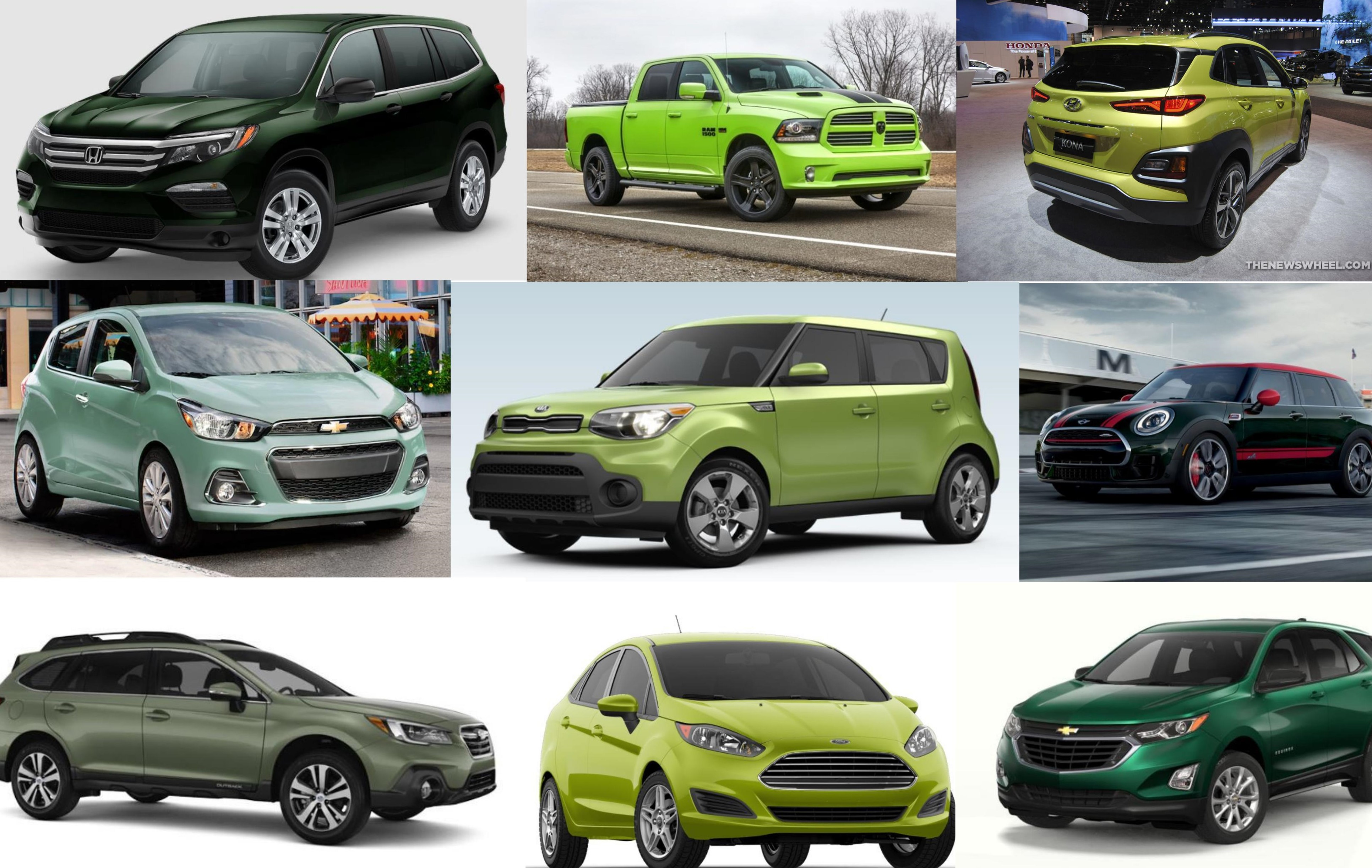 Captivating Car Colors Which 2018 Models Are Available In Green The News Wheel