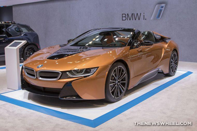 2019 BMW i8 Roadster Chicago Auto Show CAS