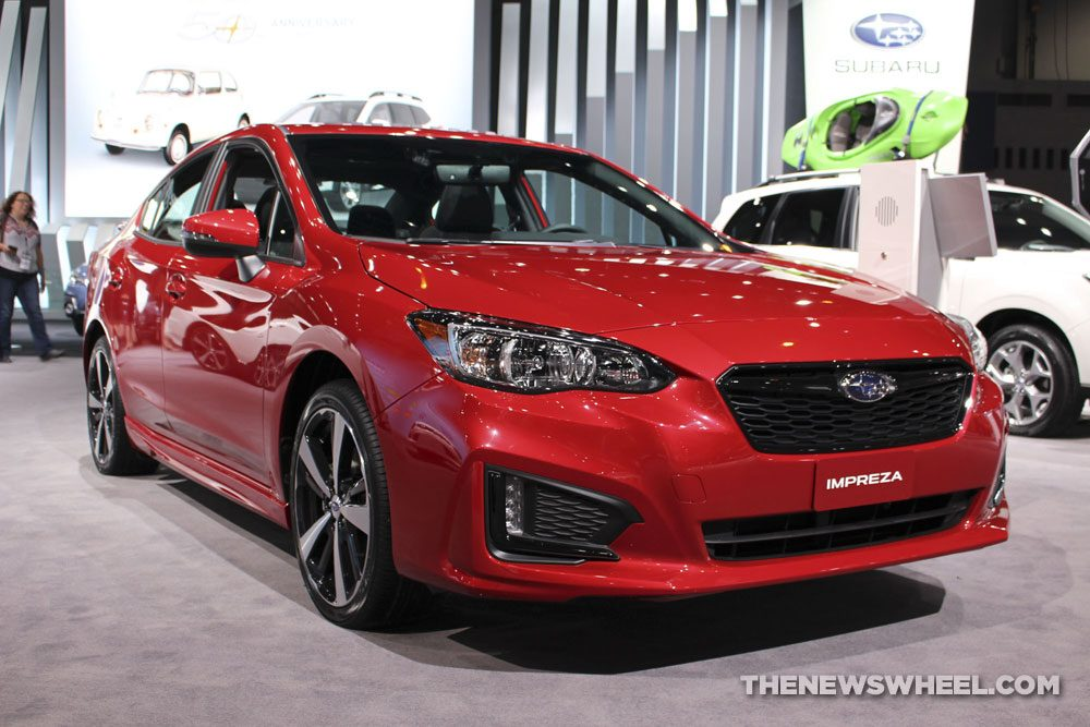 Chicago Auto Show - 2018 Subaru Impreza