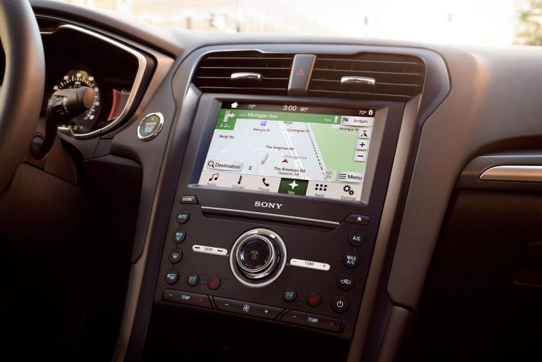 Built-In GPS Navigation System