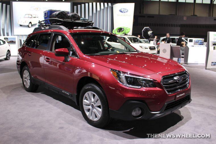 Chicago Auto Show - 2018 Subaru Outback