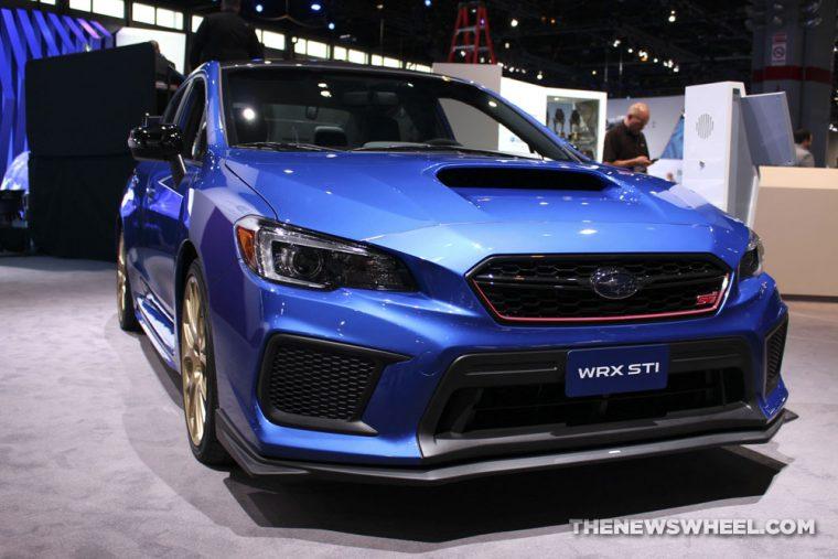 Chicago Auto Show - 2018 Subaru WRX STI Type RA