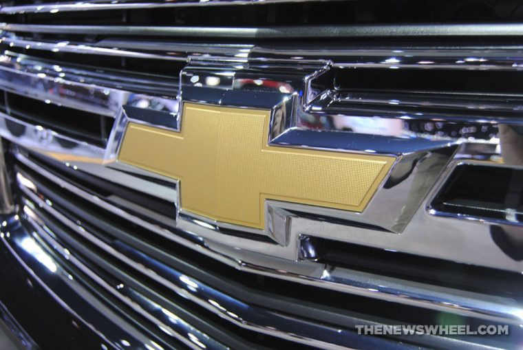 Chicago Auto Show - Chevrolet Badge