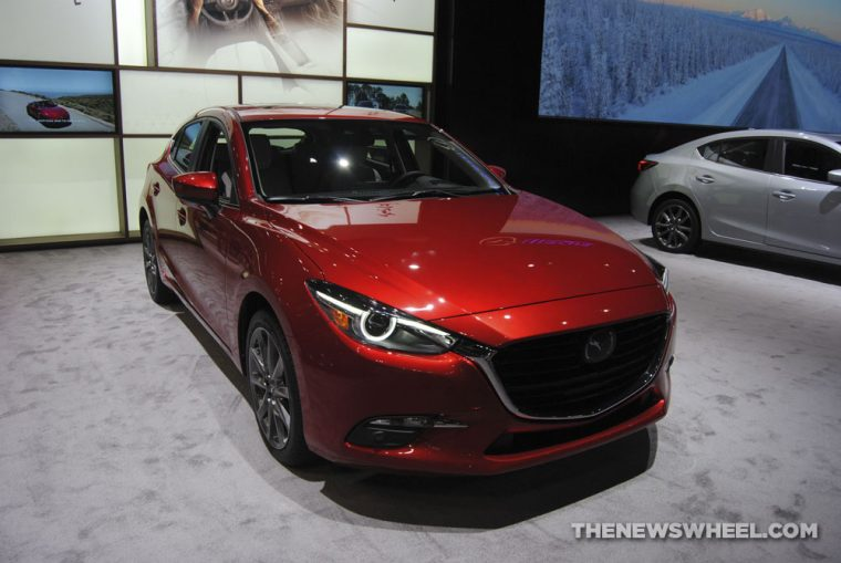2018 Mazda3 at Chicago Auto Show