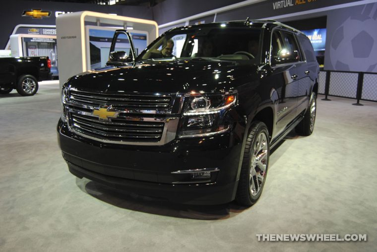 Chicago Auto Show - 2018 Chevrolet Suburban Premier