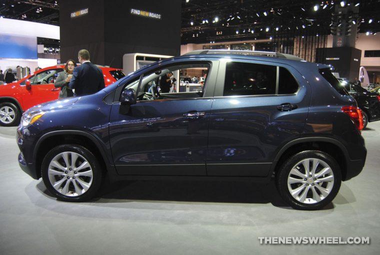 Chicago Auto Show - 2018 Chevrolet Trax Premier