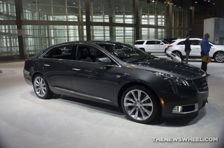 Chicago Auto Show - 2018 Cadillac XTS V-Sport Platinum