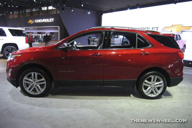 Chicago Auto Show - 2018 Chevrolet Equinox Premier AWD