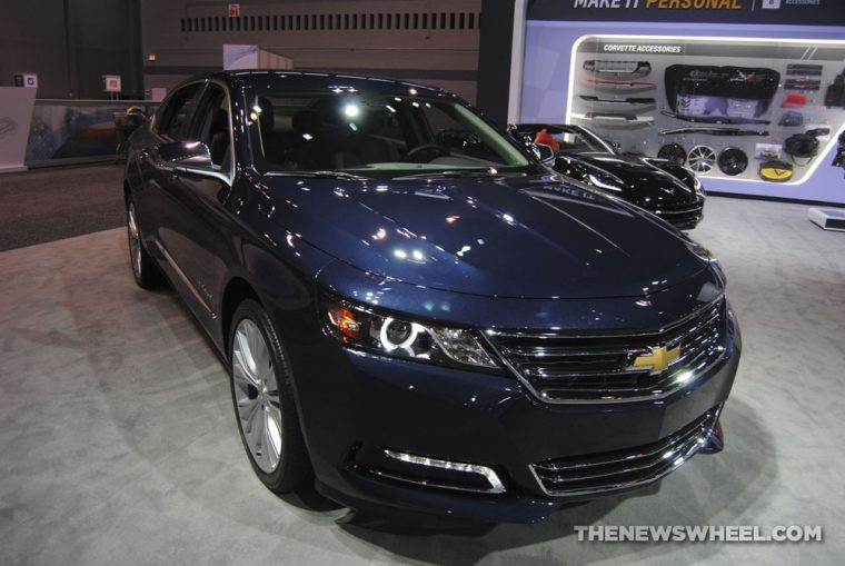 Chicago Auto Show - 2018 Chevrolet Impala Premier