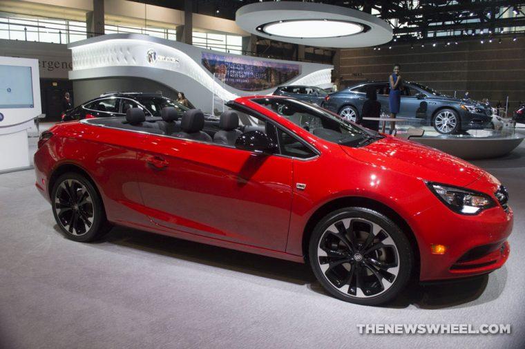 Chicago Auto Show - 2018 Buick Cascada