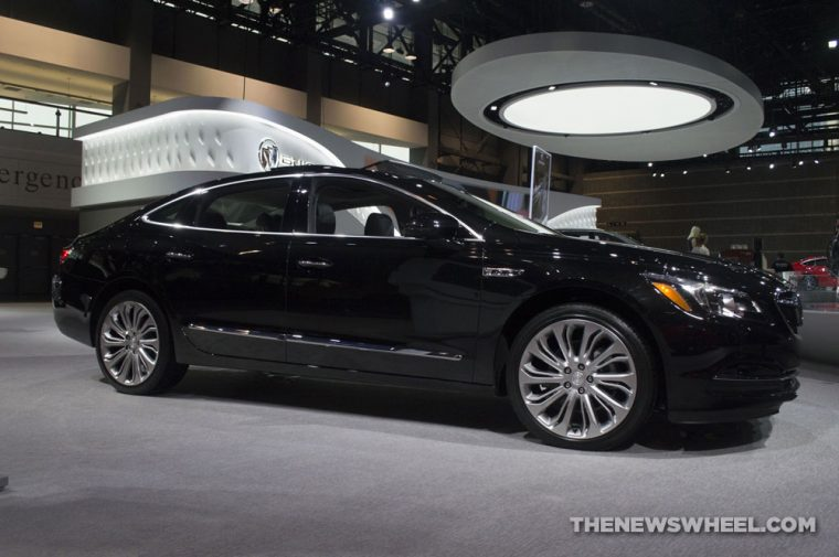 Chicago Auto Show - 2018 Buick LaCrosse AWD
