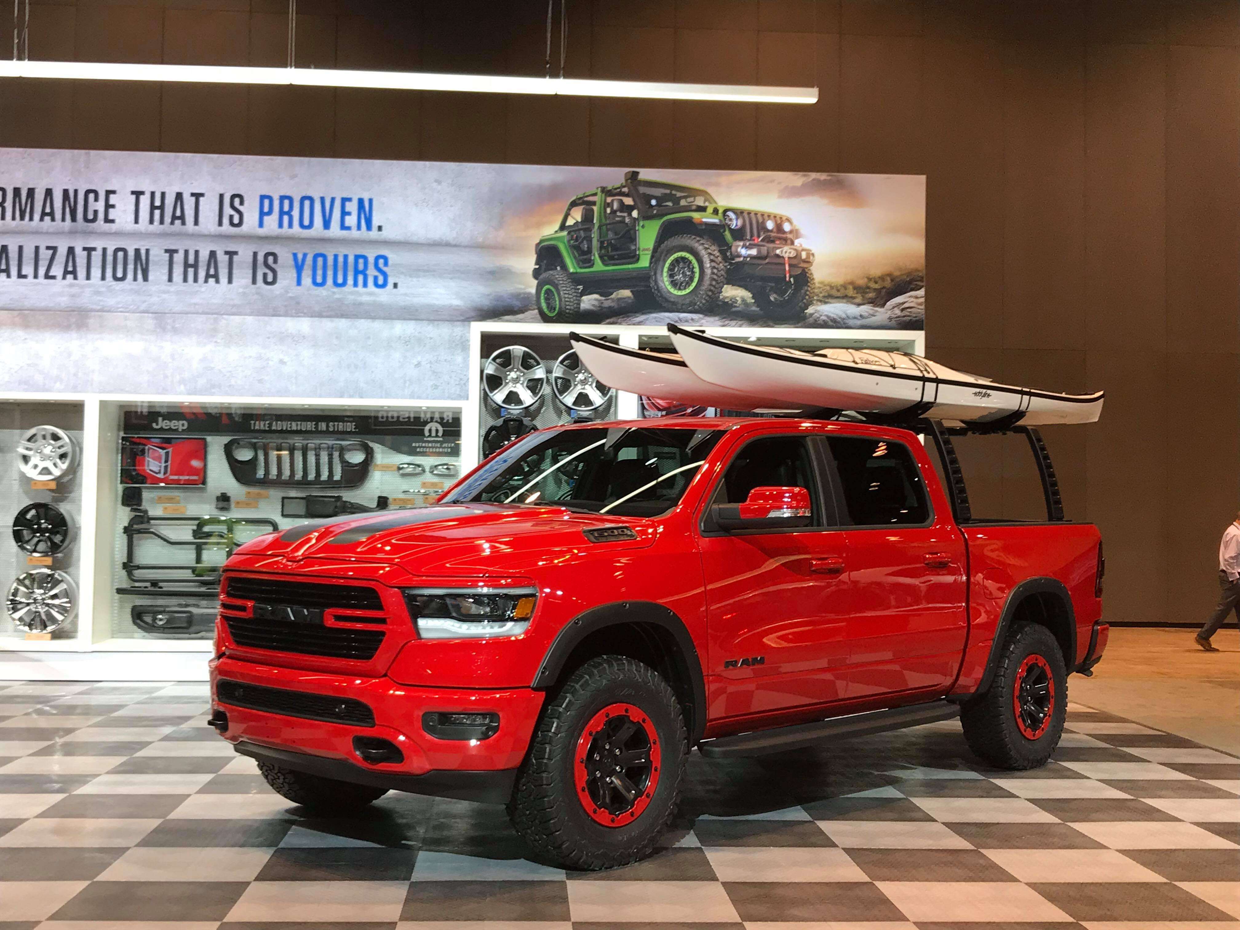All-New 2019 Ram 1500 Gets Customized at Chicago Auto Show ...