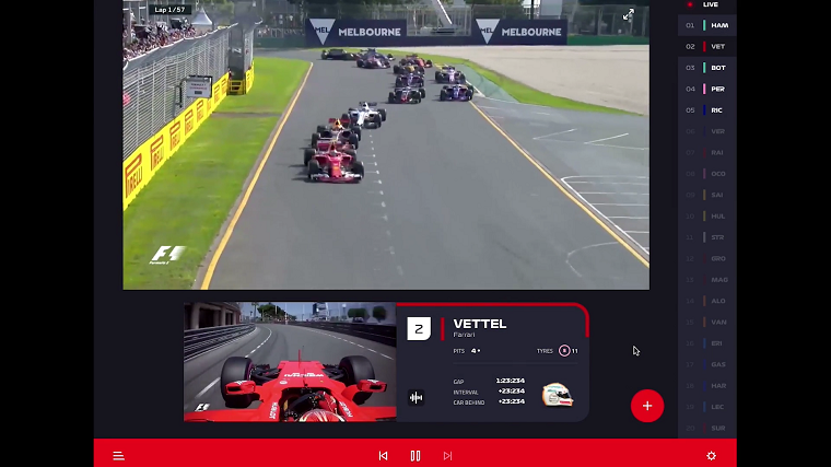 Formula 1 to Launch Affordable and Comprehensive F1 TV