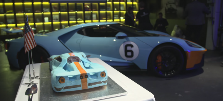 Ford GT Cake