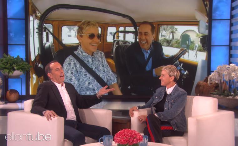 Jerry Seinfeld on Ellen - Comedians in Cars Getting Coffee