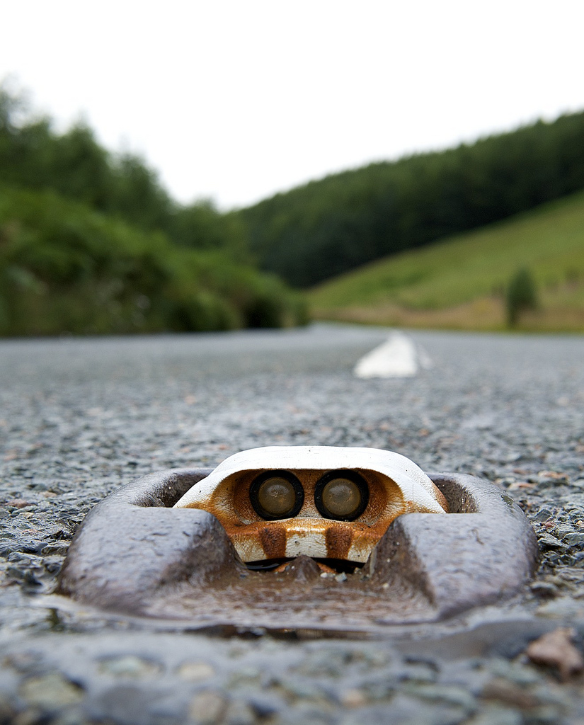 Cats Eyes Road >> Did You Know? Those Reflective Blocks Embedded in the Road Are Called Cat's Eyes - The News Wheel
