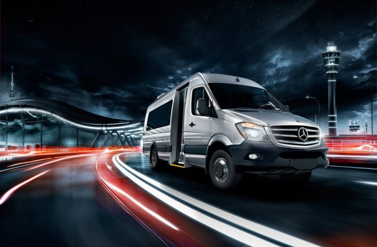 mini bus mercedes sprinter exterior