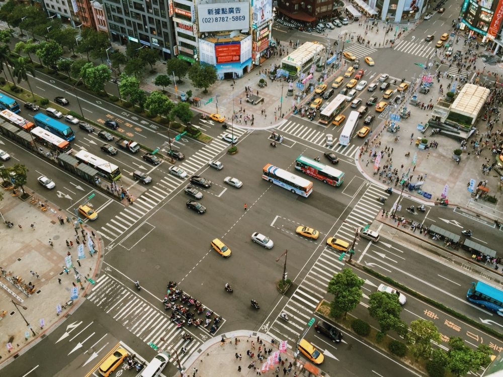 City Traffic ride-hailing emissions