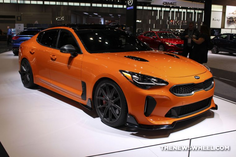 2018 Kia Stinger Gt Named One Of The Best Four Door Sports Cars By Us News The News Wheel