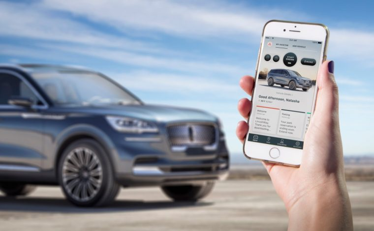 2019 Lincoln Aviator Phone as a Key