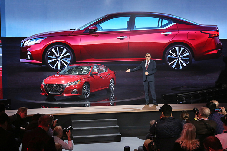 Nissan Reveals 2019 Altima at New York International Auto ...