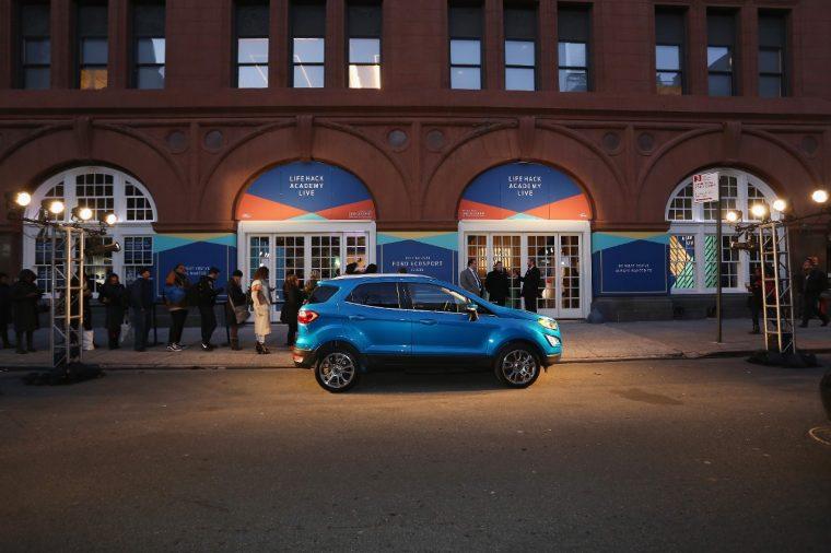Ford EcoSport Life Hack Academy