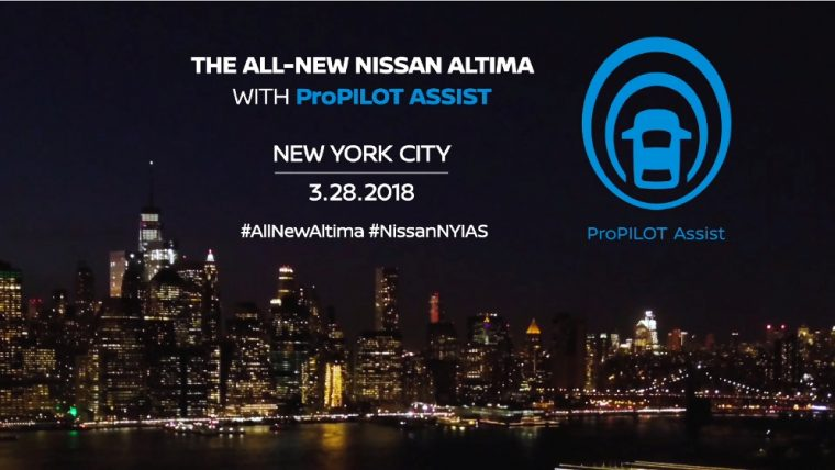 All-new Nissan Altima available with ProPILOT Assist