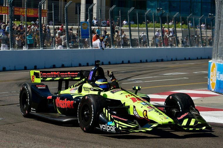 Sebastien Bourdais wins St. Petersburg