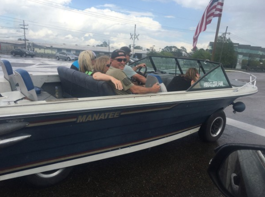 Car Boat Made from Chevy Pickup Chassis Cruises Around New ...