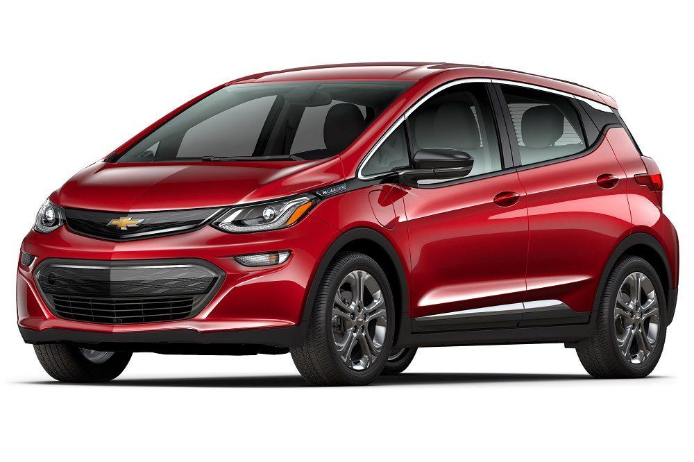 Chevrolet Bolt EV red gryffindor