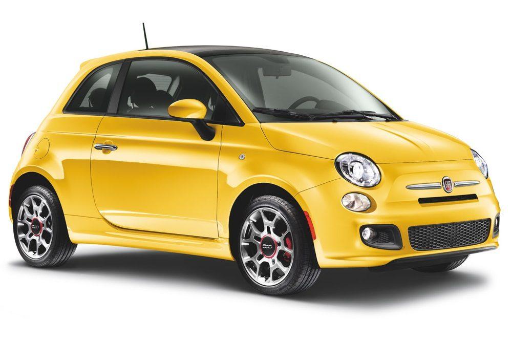 FIAT 500 yellow hufflepuff