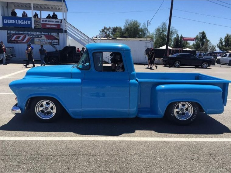 Griffin Steinfeld Chevrolet Chevy Apache Blue Profile