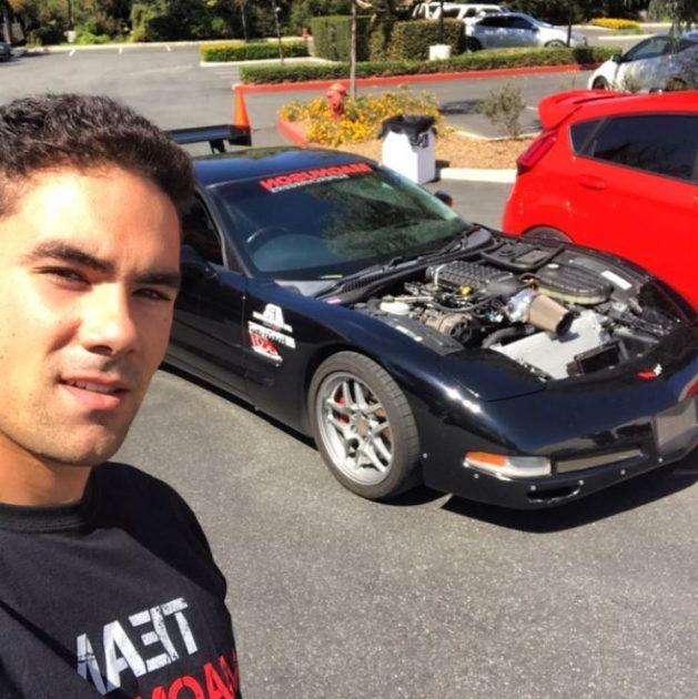 Griffin Steinfeld Chevrolet Corvette Exposed Engine
