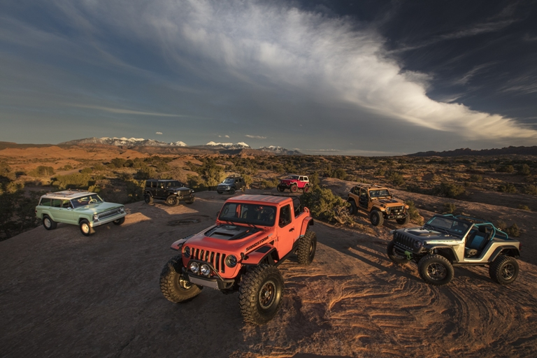 Jeep Wagoneer 2018 >> Jeep Showcases Seven Concept Vehicles During the 52nd Annual Moab Easter Jeep Safari - The News ...
