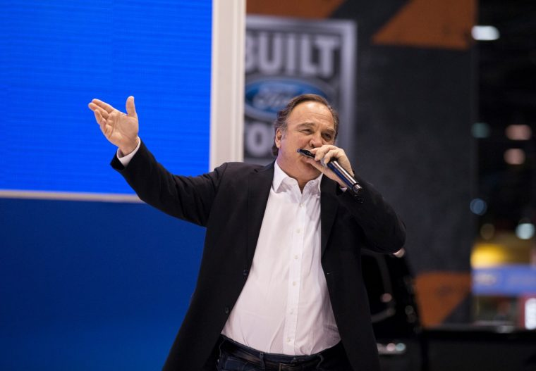 Jim Belushi at Chicago Auto Show