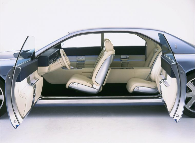 2002 Lincoln Continental Concept Suicide Doors | Lincoln teases Coach Door Continental