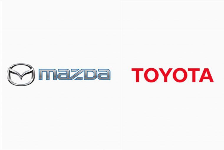 Mazda Toyota Logo