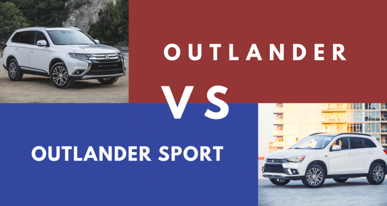 What's the Difference Between the Mitsubishi Outlander and