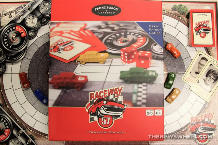 Raceway 57 Front Porch Classics motorsports car racing board game review pictures (1)