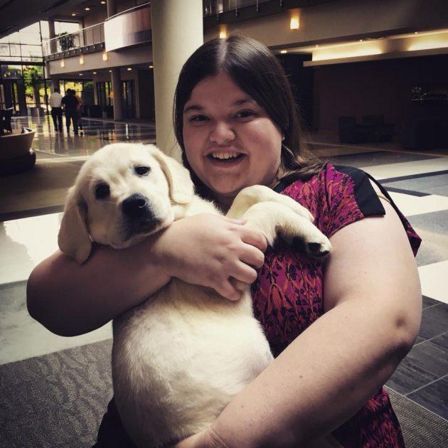 Rebecca Puppy