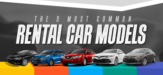 Infographic: The 5 Most Common Rental Car Models - The News