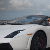 carhopper luxury car rental lamborghini white driving